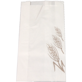 Bolsa papel Blanca Impresa.