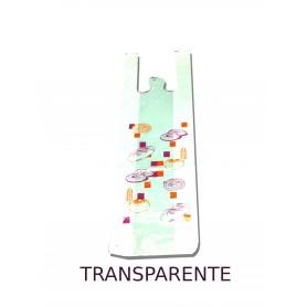 Bolsa plástico 30x60 cm Asas Camiseta TR Impresa Genérica